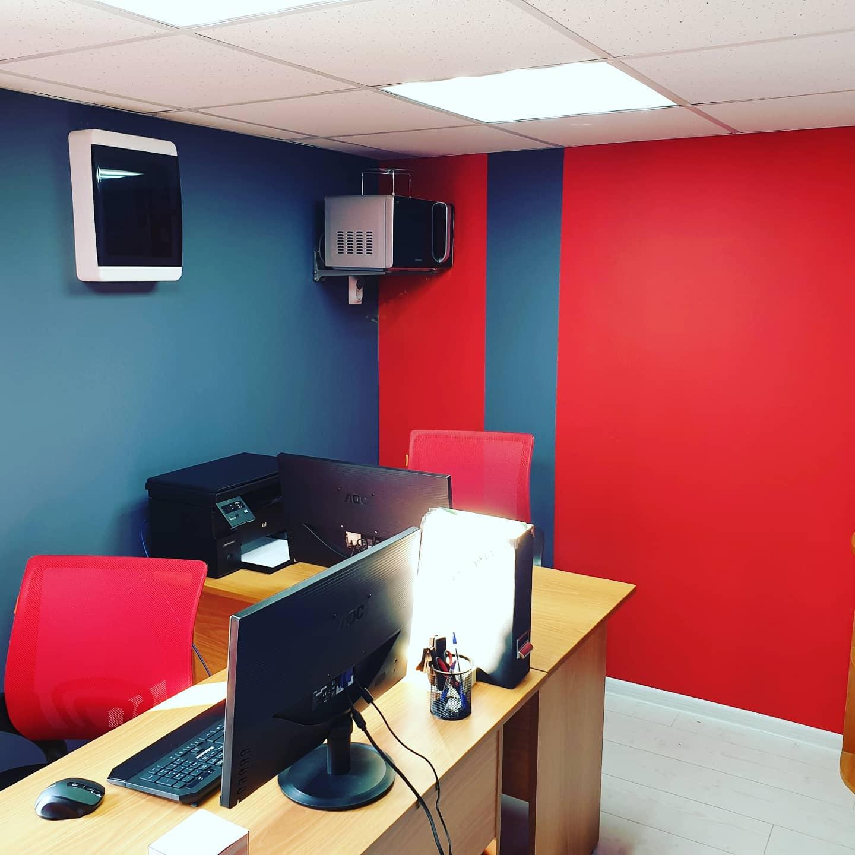 Тёплый офис на нашем складе