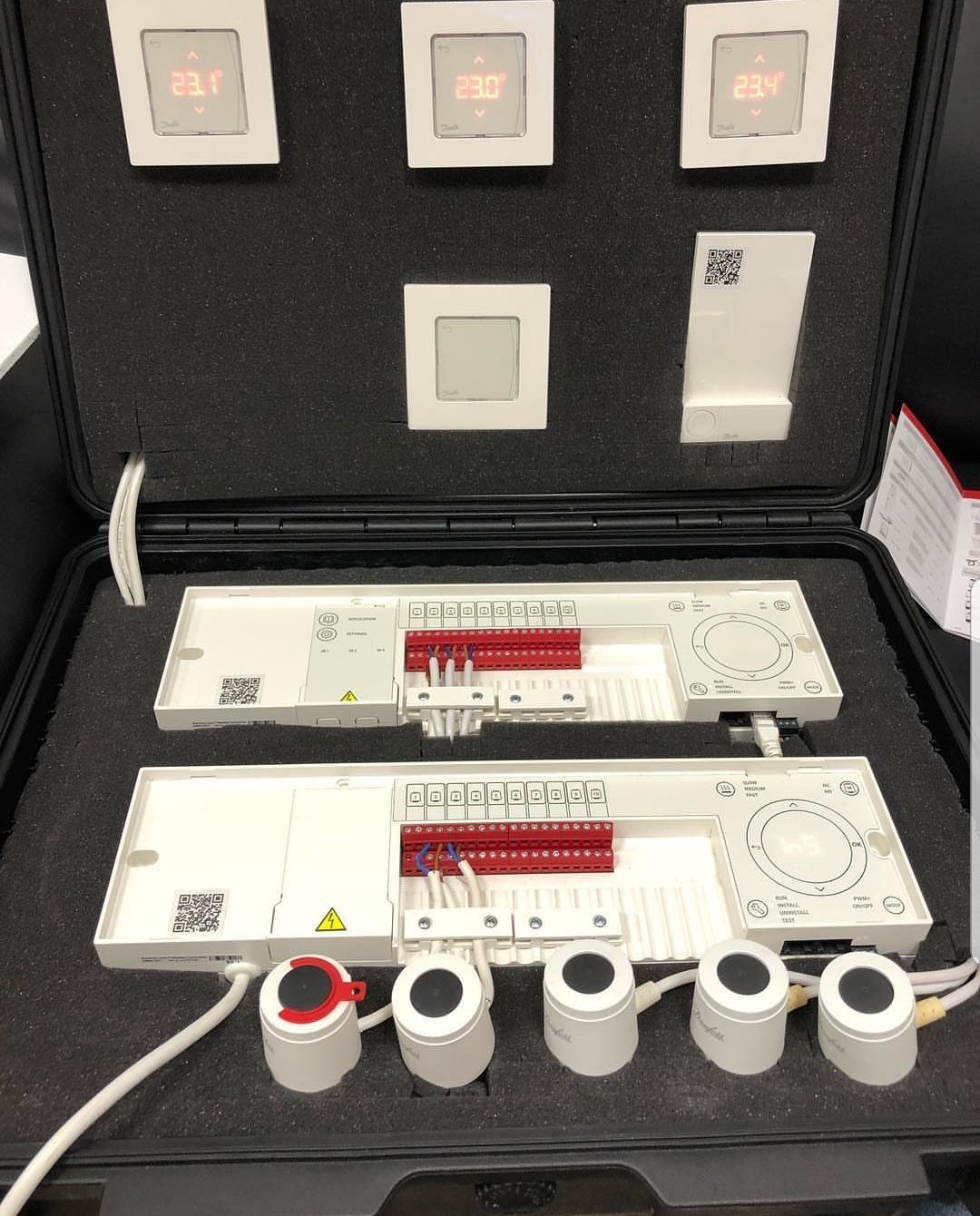 Контроллеры Danfoss в работе